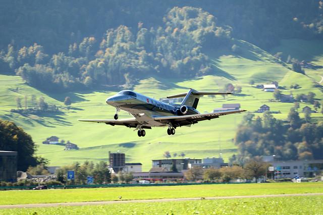 Pilatus PC-24 Super Versatile Jet HB-VXB departing LSZC/LSMU