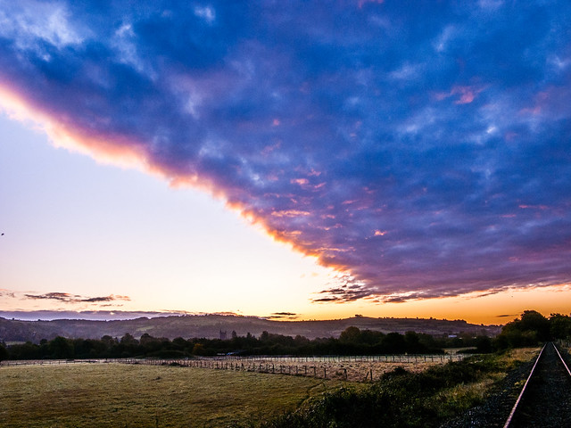 The morning weather front