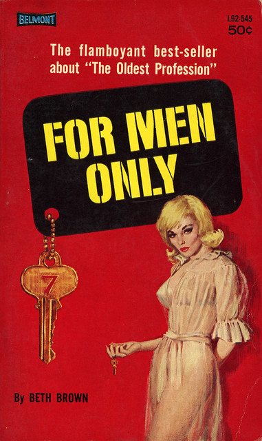 Belmont Books L92-545 - Beth Brown - For Men Only