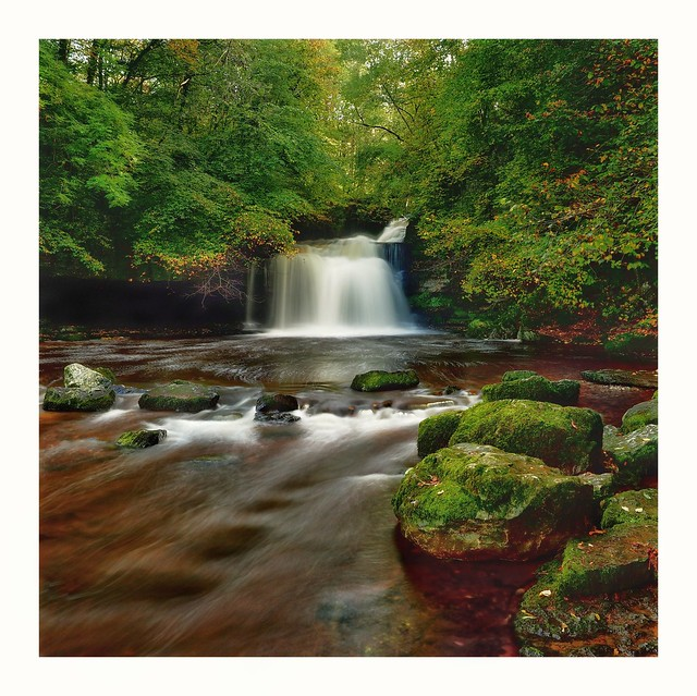 Couldron Falls, Wensleydale, Yorkshire Dales