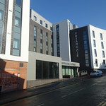Student flats at Preston