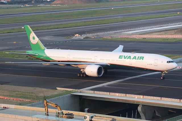 B-16736  -  Boeing 777-36N(ER)  -  Eva Air  -  TPE/RCTP 10/10/19