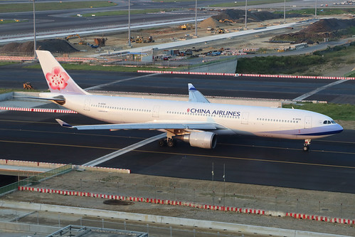 B-18316  -  Airbus A330-302  -  China Airlines  -  TPE/RCTP 10/10/19 | by Martin Stovey