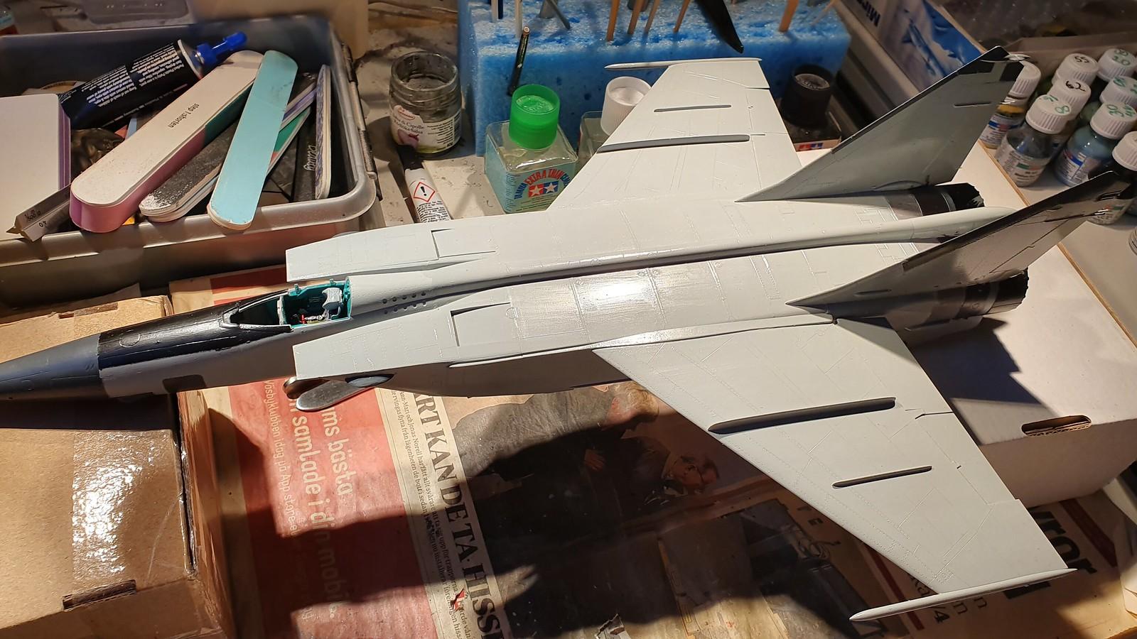MiG-25BM Iraqi Air Force 1988 - ICM/Revell 1/48 + extra - Färdig! - Sida 7 48914336118_ab94d6d2b7_h
