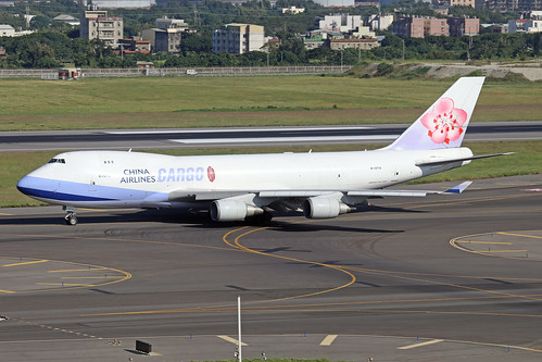 B-18719  -  Boeing 747-409F  -  China Airlines Cargo  -  TPE/RCTP 11/10/19 | by Martin Stovey