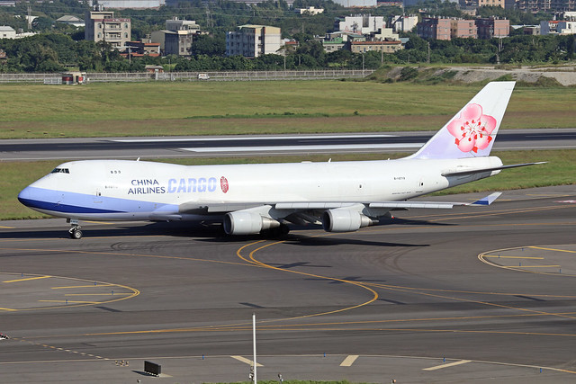 B-18709  -  Boeing 747-409F  -  China Airlines Cargo  -  TPE/RCTP 11/10/19