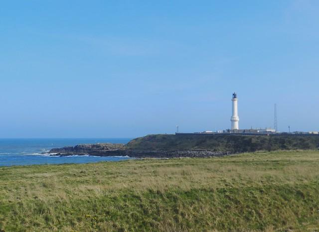 Girdle Ness Lighthouse, Aberdeen, Apr 2019