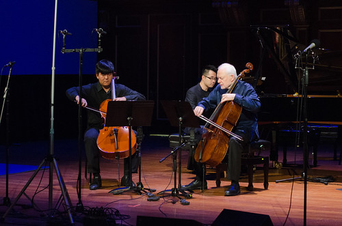 Anthony Choi and Paul Katz, cello, and Zenan Yu, piano