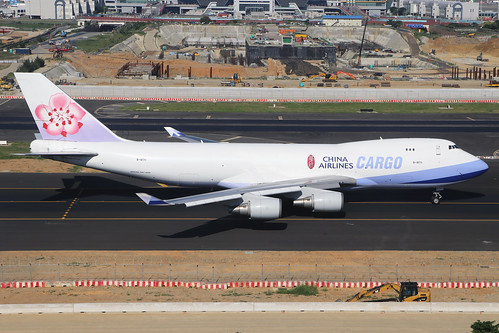 B-18711  -  Boeing 747-409F  -  China Airlines  -  TPE/RCTP 11/10/19 | by Martin Stovey
