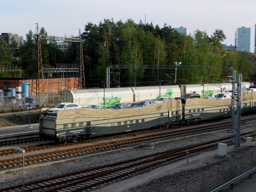 Станция Пасила. Автомобильный терминал.