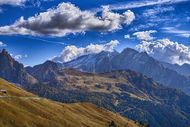 Ich bin für ein paar Tage in Südtirol
