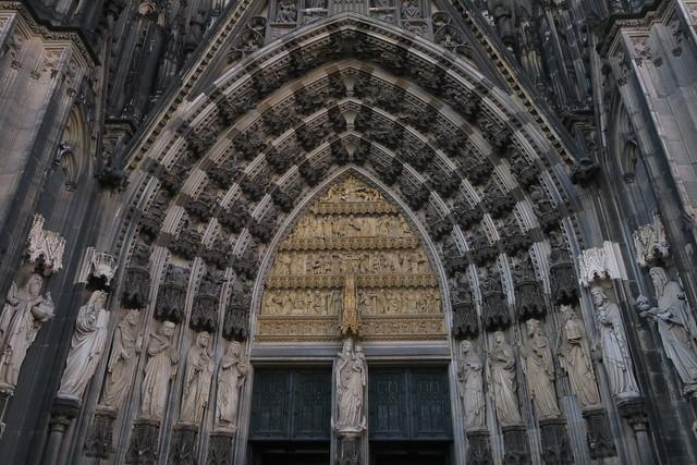 Kölner Dom - Zentrales Portal