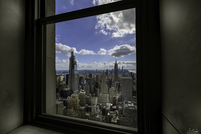 Special New York view from Top Of the Rock - USA