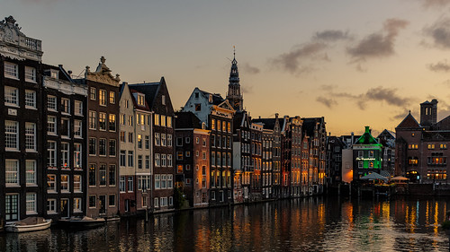 Golden hour at the Canal