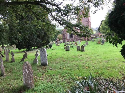 Lovely Kenn church. So tranquil.