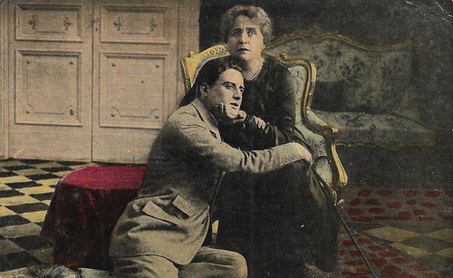 Ida Carloni Talli and Giovanni Schettini in Vertigine (1919)