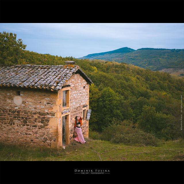 Autumn in Beaujolais (France)