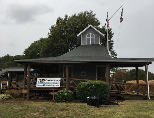 Photo of DNR Solomons Service Center building exterior