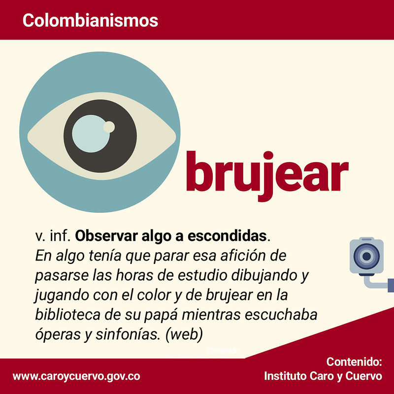 Colombianismos octubre 2019