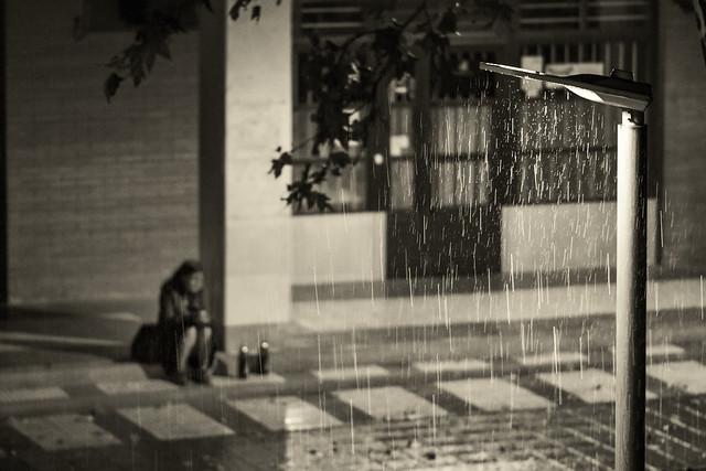 Llover tristeza...