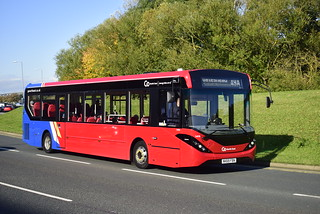 Go North East Riverside Based 5498 NK69FBN Alexander Dennis Enviro 200 Branded In The New GNE corporate Livery