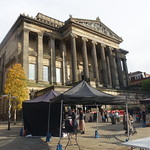 Makers Market near the Harris at Preston