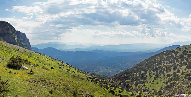 Coming down from the Astraka refuge, Timfi, Greece
