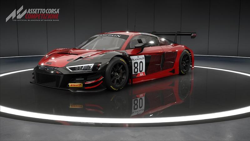 Assetto Corsa Competizione Audi R8 LMS