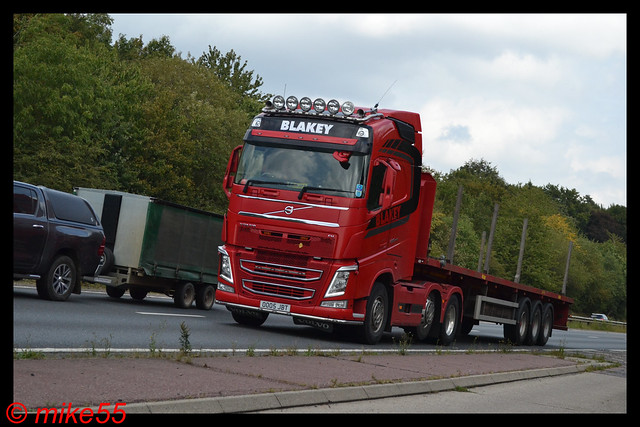 Volvo FH4 'Blakey' reg 0005 JBT