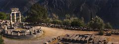 Santuario de atenea Pronaia, Delphi, Grecia