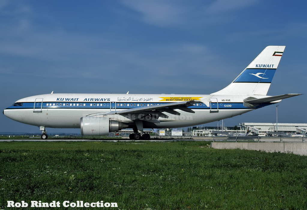 Kuwait Airways A310-304 A6-KUE
