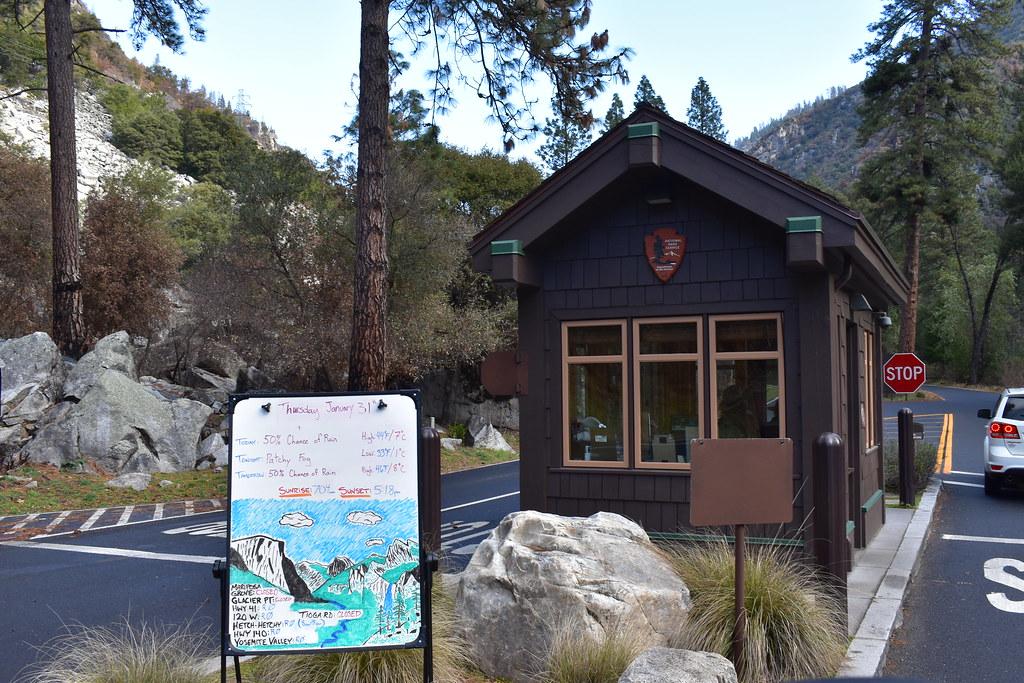 Entrada a Yosemite