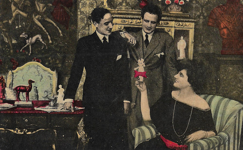 Hesperia, Tullio Carminati and Giovanni Schettini  in Vertigine (1919)