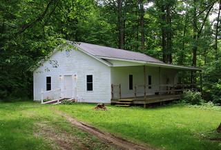 Creekside House of Prayer Church (old building) - Owen County, Indiana
