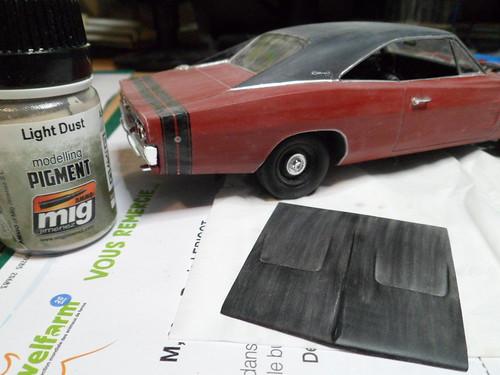 Défi moins de kits en cours : Dodge Charger R/T 68 [Revell 1/25] *** Vignette terminée en pg 10 - Page 9 48915234273_a9b84bf064