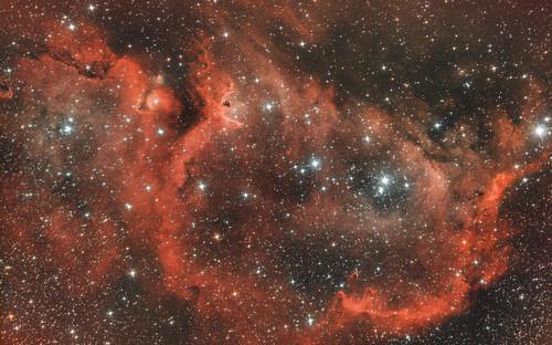 Nébuleuse de l'Ame - IC 1848