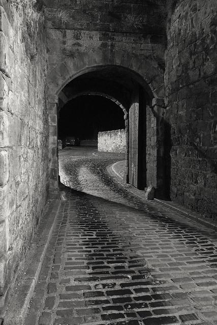 Shore Gate, Berwick-upon-Tweed, Northumberland, UK