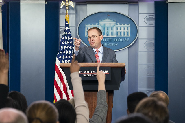 Press Briefing with Acting Chief of Staff Mick Mulvaney