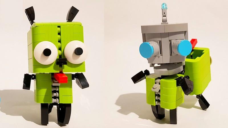 LEGO Gir's dog suit