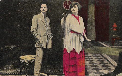 Hesperia and Tullio Carminati in Vertigine (1919)