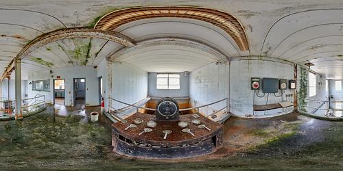 Abandoned waterworks in Goodwater, AL
