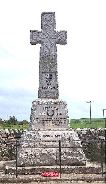Upper Sorbie War Memorial