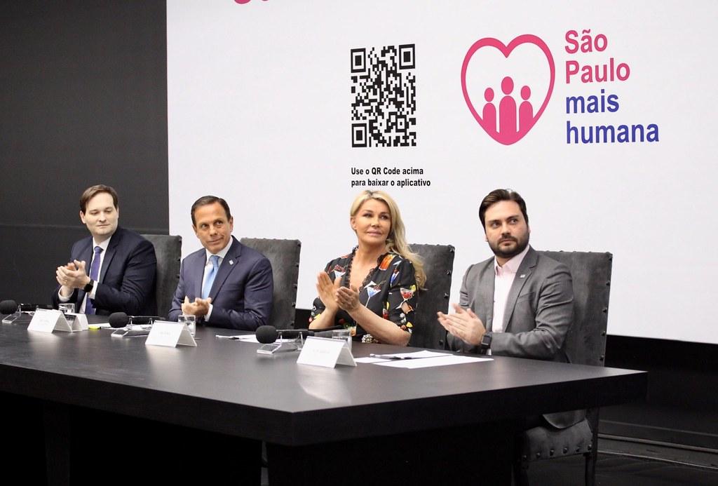 """Lançamento do aplicativo """"São Paulo Mais Humana"""","""