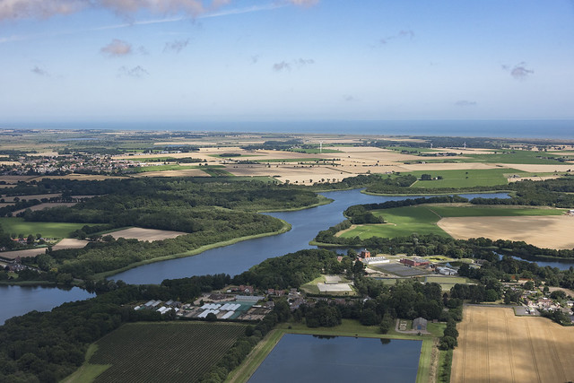 Ormesby Broad aerial image