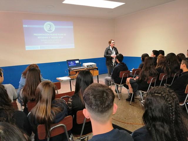 Charla a 2º Año Medio: Nuevo Plan de Estudio  Electividad año 2020