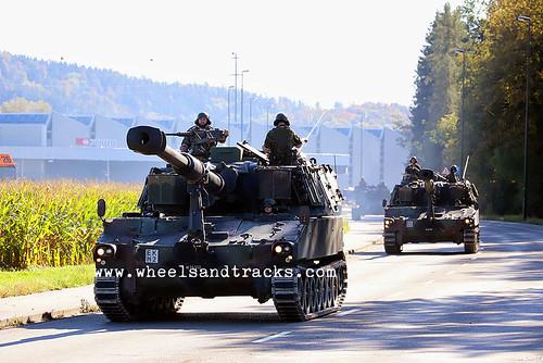 M109 Pz Hb Art Abt 16 - Swiss Army