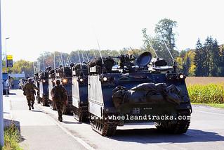 M113 Spz Art Abt 16 - Swiss Army