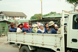 cambodian construction workers
