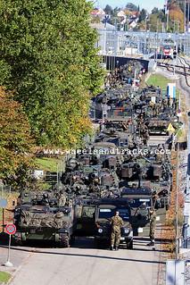 M109 und M113 Art Abt 16 - Swiss Army