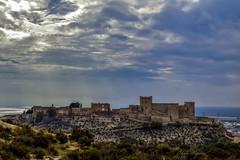 Nubes sobre la Alcazaba